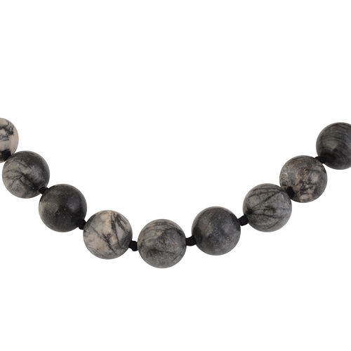 TJC Launch-Indonesian Maligano Jasper Beaded Necklace (Size 18 with 2 inch Extender) 698.00  Ct.