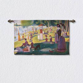 Signare Tapestry - 100% Cotton Wall Hanging - A Sunday Afternoon on the Island of La Grande Jatte