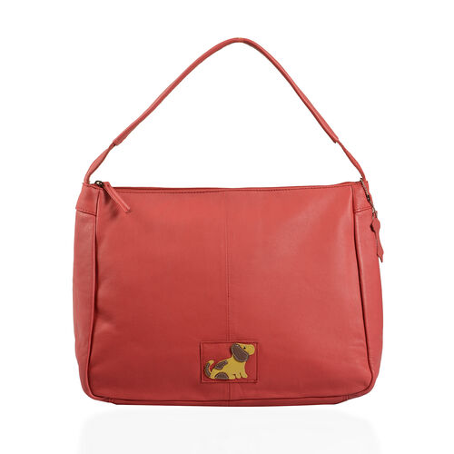 Super Soft 100% Genuine Leather Large Tote with RFID (Size 35x28 Cm)