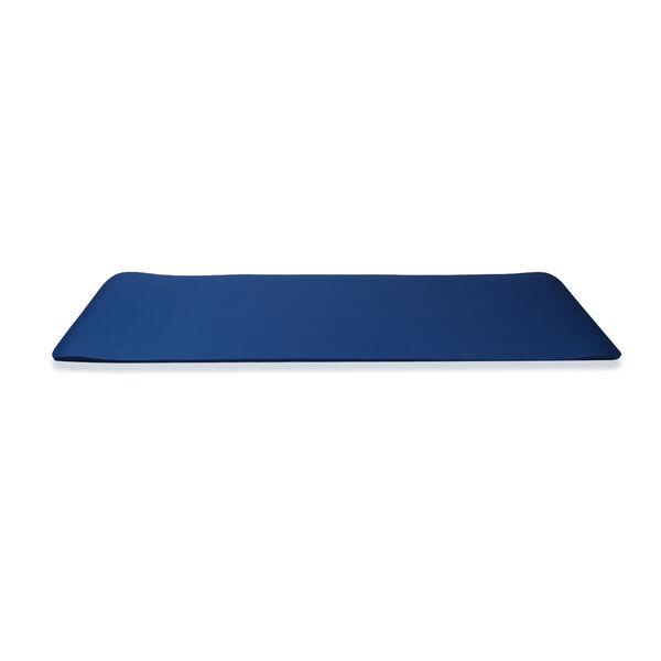 NBR Yoga Mat with Strap (188x61x1.27 Cm) - Blue