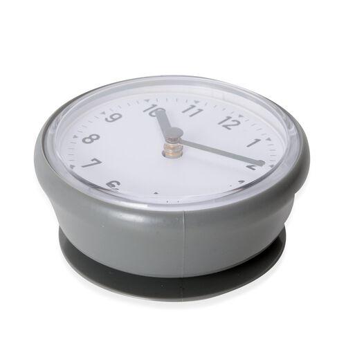 Petite Shape Wall Clock Grey Colour
