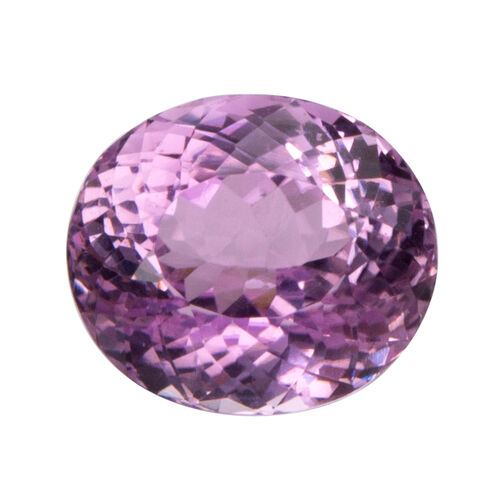Kunzite (Oval 13x11.5 Faceted 3A) 9.670 Cts