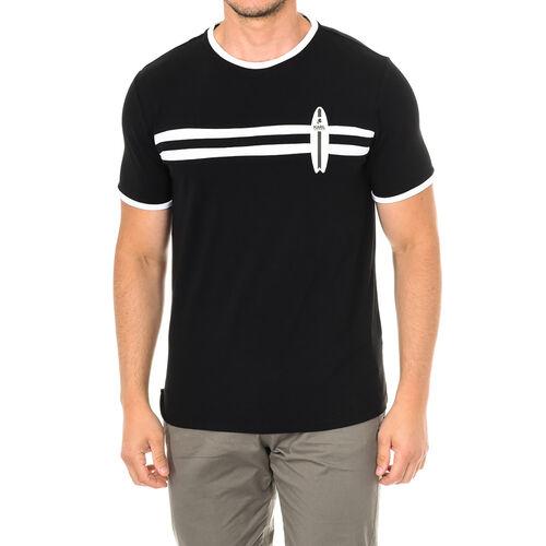 Karl Lagerfeld - Mens Surf T-Shirt Short Sleeve (Size M) - Black