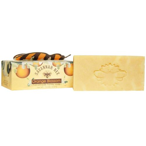 Savannah Bee: Honey Bar Soap Blackberry Rose - 150g