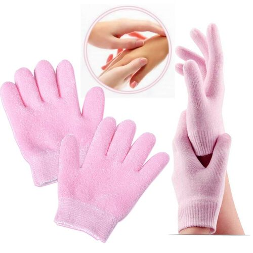 SPA Moisturizing Gel Gloves (One Size fits most) - Pink