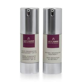 MeruMaya Night and Day Duo: Retinol Resurfacing Treatment - 30ml and Youth Preservation Moisturiser