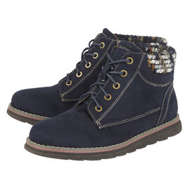Lotus Sycamore Ankle Boot Navy