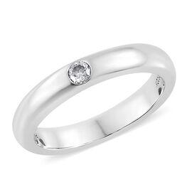 RHAPSODY 950 Platinum Diamond (VS/E-F) (Rnd) Solitaire Ring, Platinum wt 6.23 Gms.