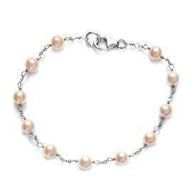 Freshwater Pearl Bracelet (Size 7.5) inSterling Silver