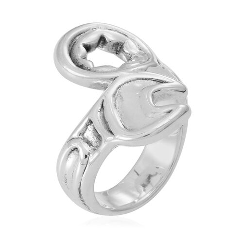 Statement Collection Sterling Silver Ring, Silver wt 5.21 Gms.