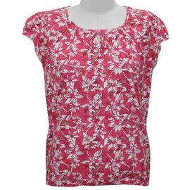 Auburn Short Sleeve Printed Top