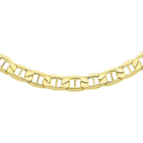 9K Yellow Gold Rambo Chain (Size 24), Gold wt 9.80 Gms.