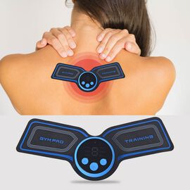 Wireless TENS Massager for Pain Relief & Fat Burning With 9 Intensity Settings, 10-35 Degrees Heat &