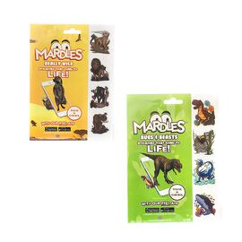 (Option 1) Bugs and Beasts Duo pack Includes 24 Mardles Stickers (12 each of Bugs, Beasts and Really