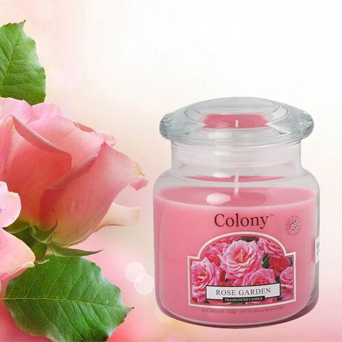 Wax Lyrical Classic Jar Candle - Rose Garden (426g)