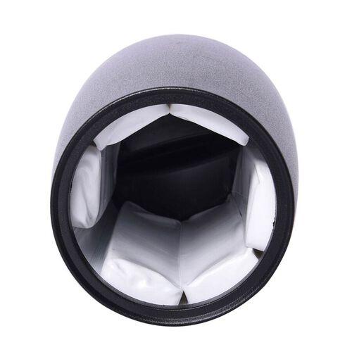 Black Wine Bottle Cooler (Size 15x15x21 Cm)