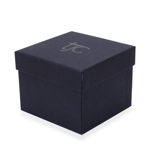 Luxury Black Earrings And Ring Gift Box