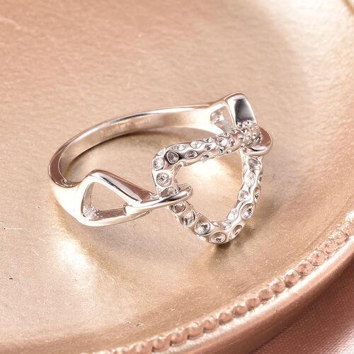 RACHEL GALLEY - Rhodium Overlay Sterling Silver Latticework Ring