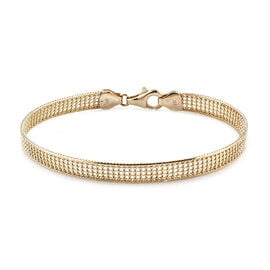 Royal Bali Collection Gold Bracelet in 9K Yellow Gold 6.32 Grams