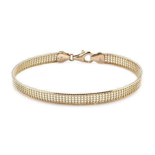 Royal Bali Collection Gold Bracelet in 9K Yellow Gold 6.32 Grams