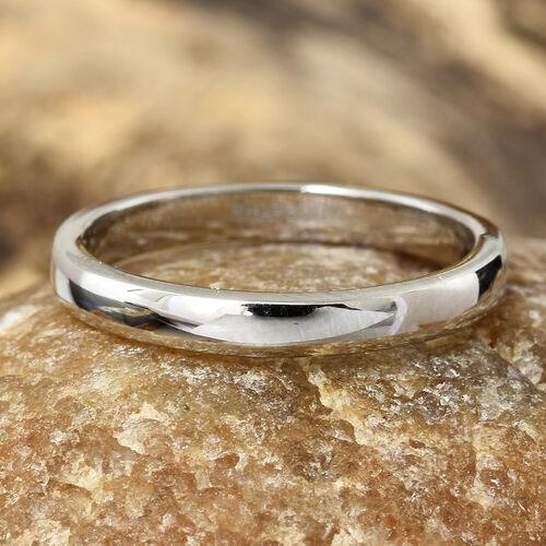 RHAPSODY 950 Platinum High Finish Band Ring
