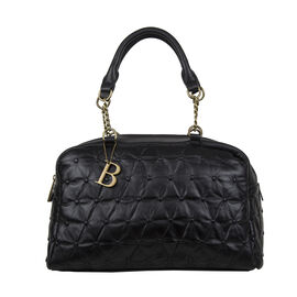 Bulaggi Collection - Chester Duffle Bag/Shoulder Bag with Zipper Closure and Detachable Strap (Size