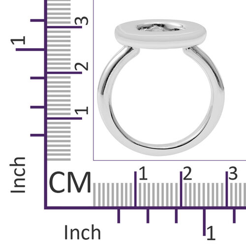 One Time Mega Deal-Sterling Silver Ring, Silver wt 5.01 Gms.