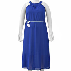 Blue Colour One Piece Dress