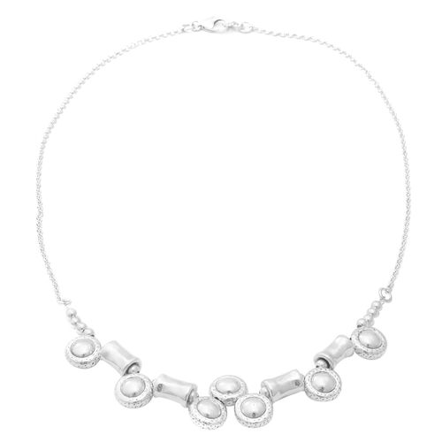 Choker Necklace in Sterling Silver 18.41 Grams 20 Inch