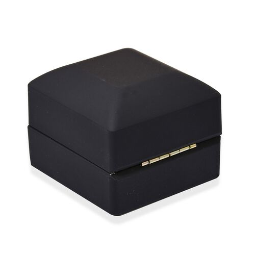 Solid Black Colour LED Light Ring Box (Size 6.3x6x5 Cm)