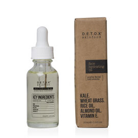 D.E.T.O.X Skinfood: Face Hydrating Oil - 30ml