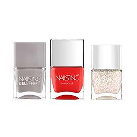 Nails Inc: Season Hitlist Trio - Hyde Park Place Gel Effect - 14ml, Hampstead Grove  - 14ml & Covent