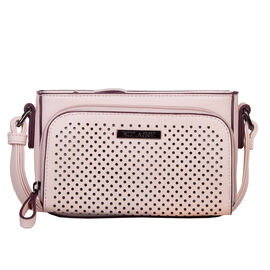 Bulaggi Collection - Penny Crossbody Bag with Adjustable Shoulder Strap (18x12x05cm) - Dusty Pink