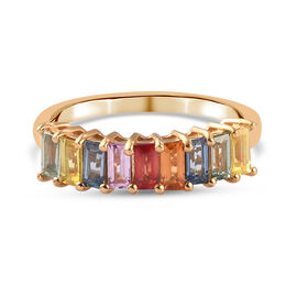 14K Gold Overlay Band Ring  10.328  Ct.