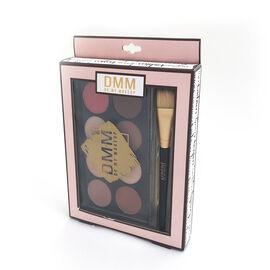 DMM Cosmetics Contour kit 8 Colours Makeup Palette with Brush