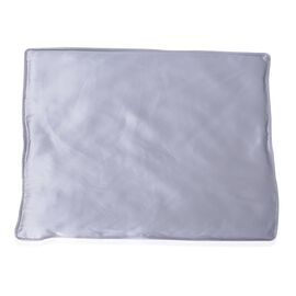 100% Mulberry Silk Pillow Pad (Size 42x32 Cm) - Grey