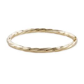 Royal Bali Stacker Bangle in 9K Gold 8.73 Grams Size 7.5 Inch