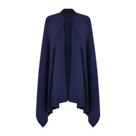 Kris Ana Scattered Shawl One Size (8-16, 170x75cm) - Navy