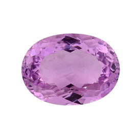 AAAA IGI Certified Kunzite Faceted Oval 13.75x10.1MM 6.61 Ct. - (GT13465205)