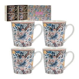 Lesser and Pavey - William Morris Golden Lily Mugs - Set of 4
