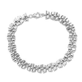 RACHEL GALLEY Chain Bracelet in Rhodium Plated Sterling Silver