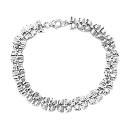 RACHEL GALLEY Chain Bracelet in Rhodium Plated Sterling Silver