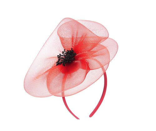 TJC Poppy Collection Fascinator