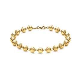 Diamond Cut Ball Bead Chain in 9K Yellow Gold 15.60 Grams 22 Inch
