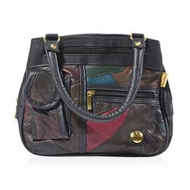 Mega Closeout Deal - Multicolour Leather Handbag