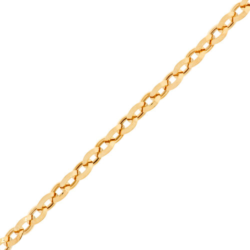 Exclusive Edition- Vicenza Collection 9K Yellow Gold Belcher Necklace (Size 34), Gold wt. 5.00 Gms.