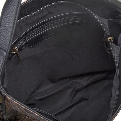 Bulaggi Collection - Protea Snake Print Hobo Shoulder Bag (Size 25x28x10cm) - Camel