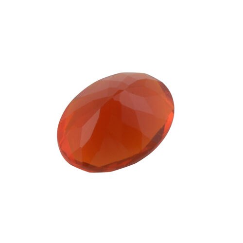 AAAA Fire Opal Oval 8.04x6.10x3.90 Faceted 0.75 Cts