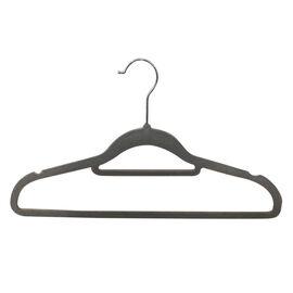 Set of 50 - Flocking Hangers in Grey
