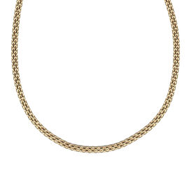 Bismark Necklace in 9K Gold 17.5 Inch